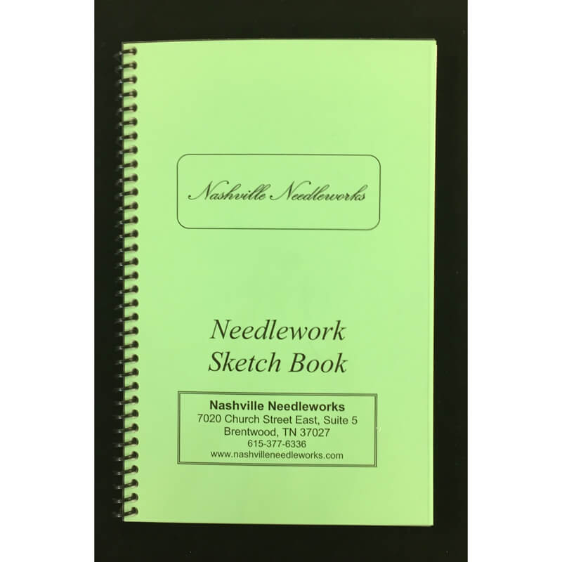Nashville Needleworks-2331-Needlework Sketch Book