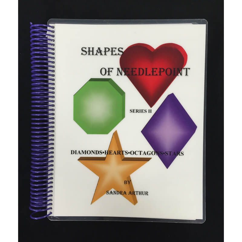 Nashville Needleworks-989-Shapes of Needlepoint, Series II - Hearts & Stars