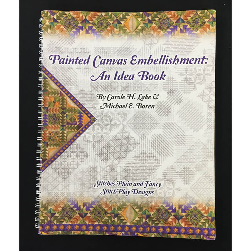 Nashville Needleworks-3118-Painted Canvas Embellishment: An Idea Book