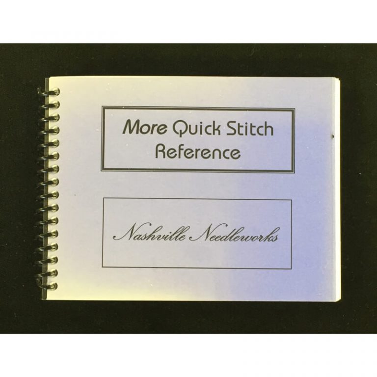Nashville Needleworks-2332-More Quick Stitch Reference