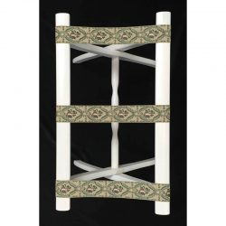 Nashville Needleworks-2882-Luggage Rack White