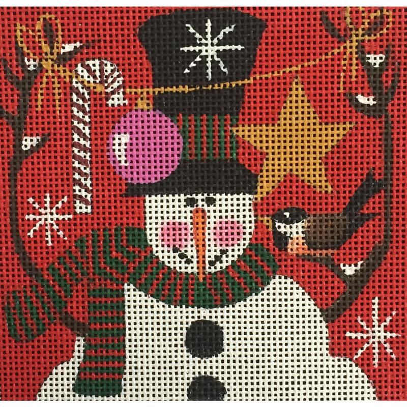 Nashville Needleworks-5200-Chickadee Snowman 2