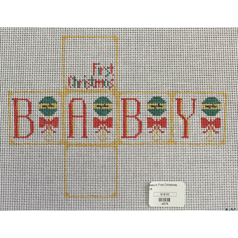 Nashville Needleworks-4979-Baby's First Christmas Package
