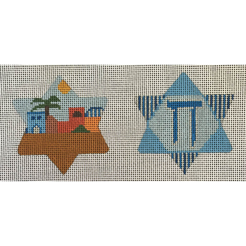 Nashville Needleworks-5253-Judaica Star Cookie Ornament