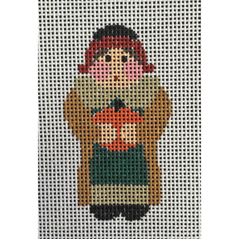 Nashville Needleworks-4973-Tiny Pilgrim Lady