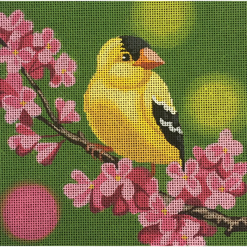 Nashville Needleworks-5026-Yellow Hummingbird