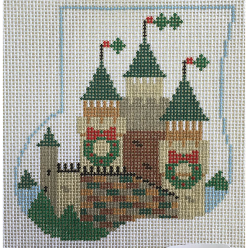 Nashville Needleworks-4995-Castle w/ Dragon