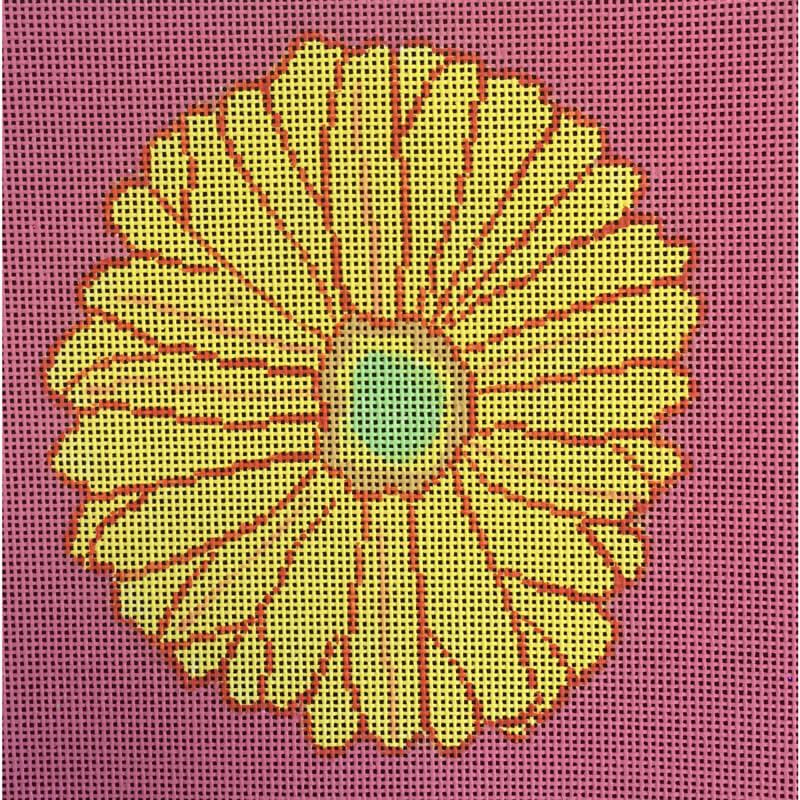 Nashville Needleworks-5205-Gerber Daisy #1