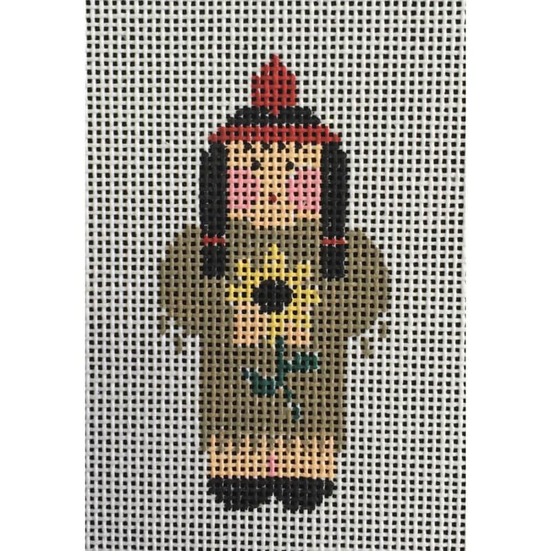 Nashville Needleworks-4975-Tiny Indian Lady