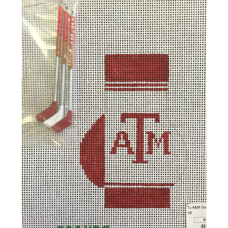 Nashville Needleworks-5230-Texas A&M Golf Bag