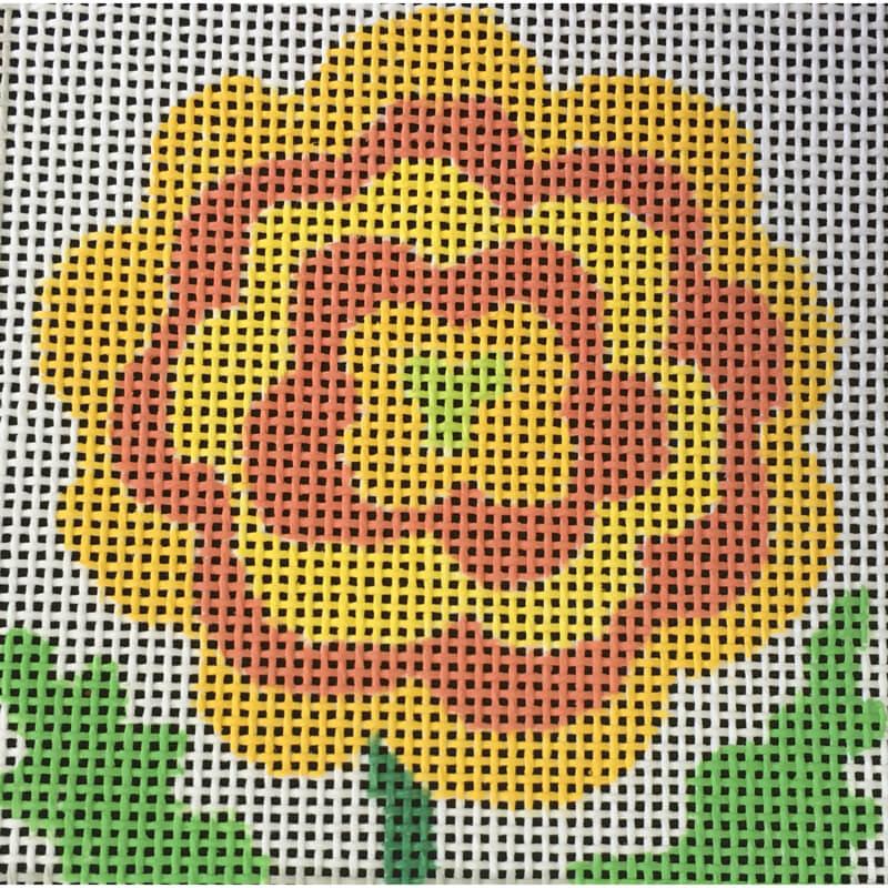 Nashville Needleworks-5215-Marigold Coaster