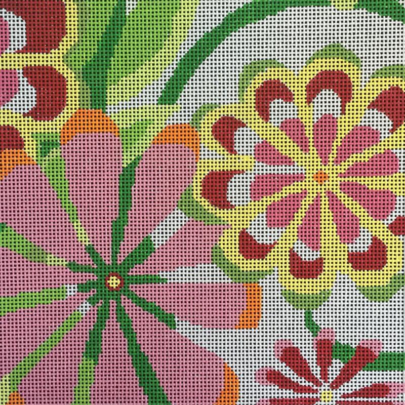 Nashville Needleworks-5208-Sm. Pink Sherbert Garden