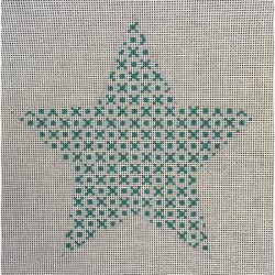 Nashville Needleworks-5313-Mara's Big Teal Star