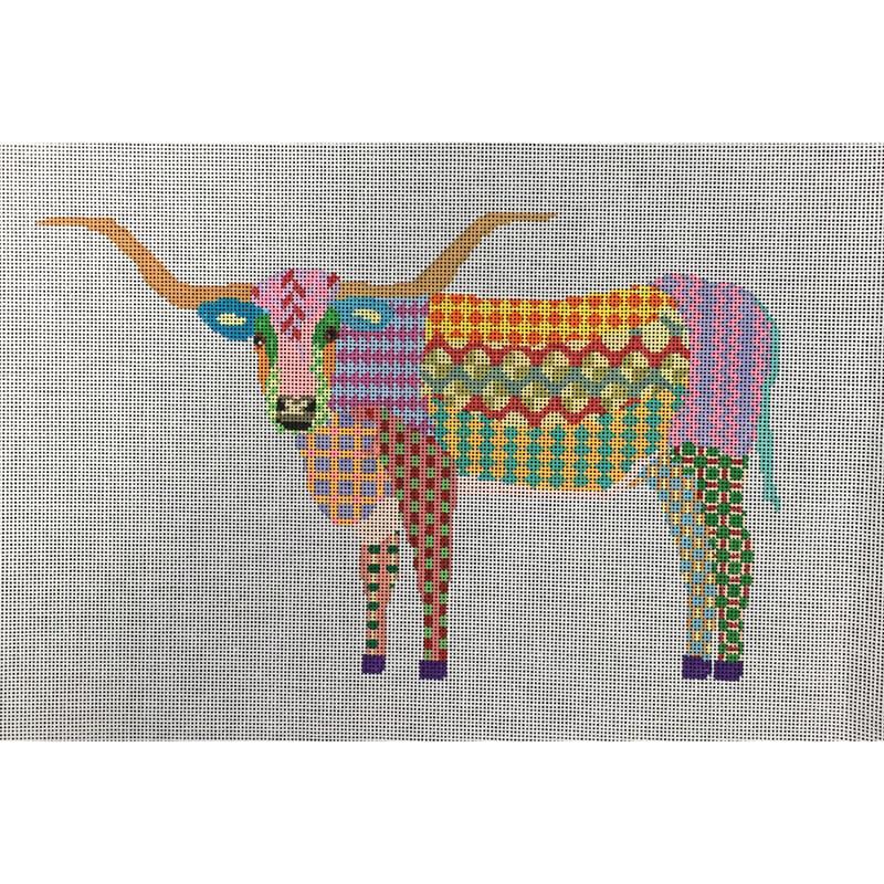 Nashville Needleworks-5459-Longhorn Steer