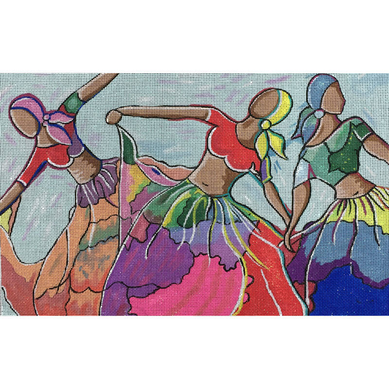 Nashville Needleworks-5518-Three Dancers