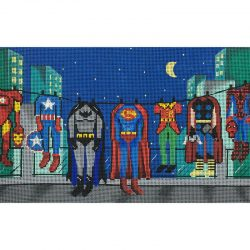 Nashville Needleworks-5527-Boys Super Heros