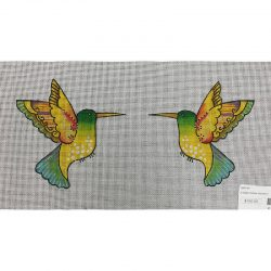 Nashville Needleworks-5523-2-Sided Yellow Hummingbird