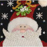 Nashville Needleworks-Santa Trio