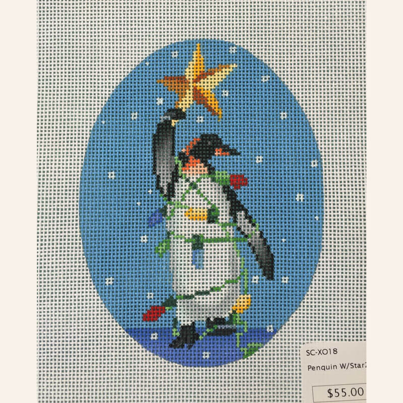 Nashville Needleworks-5620-Penguin with Star 2