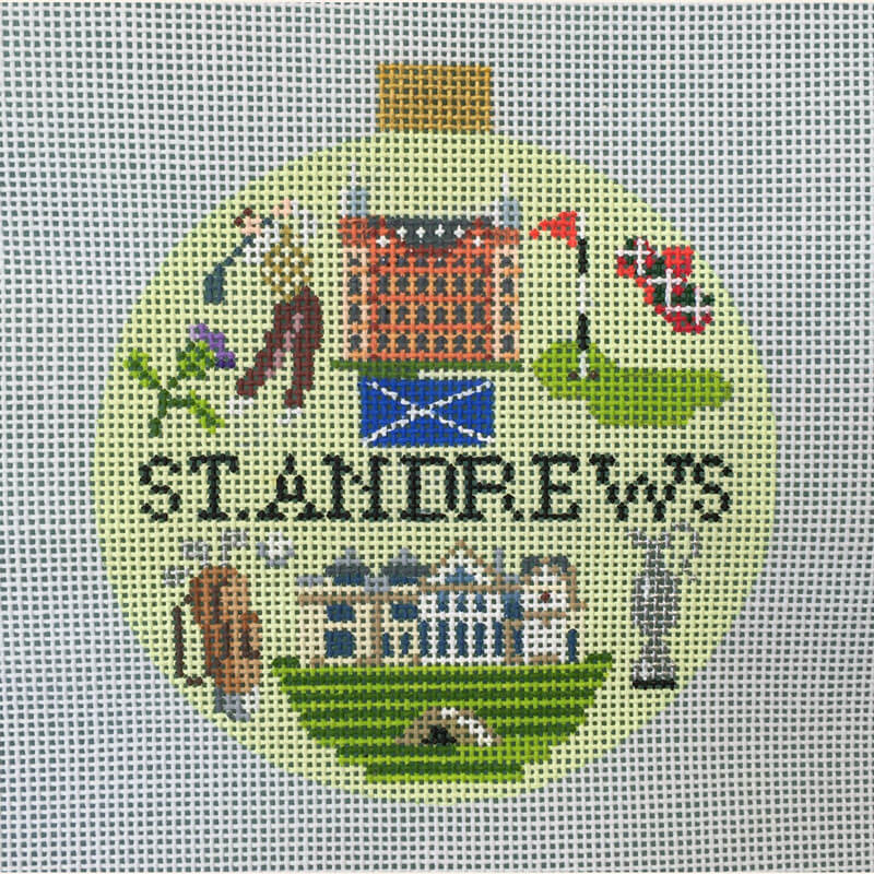 Nashville Needleworks-5608-St. Andrews Travel Round