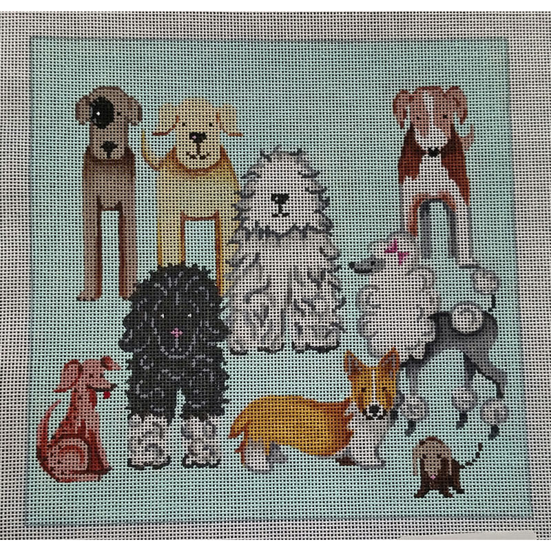 Nashville Needleworks - 5719 - Doggies Square