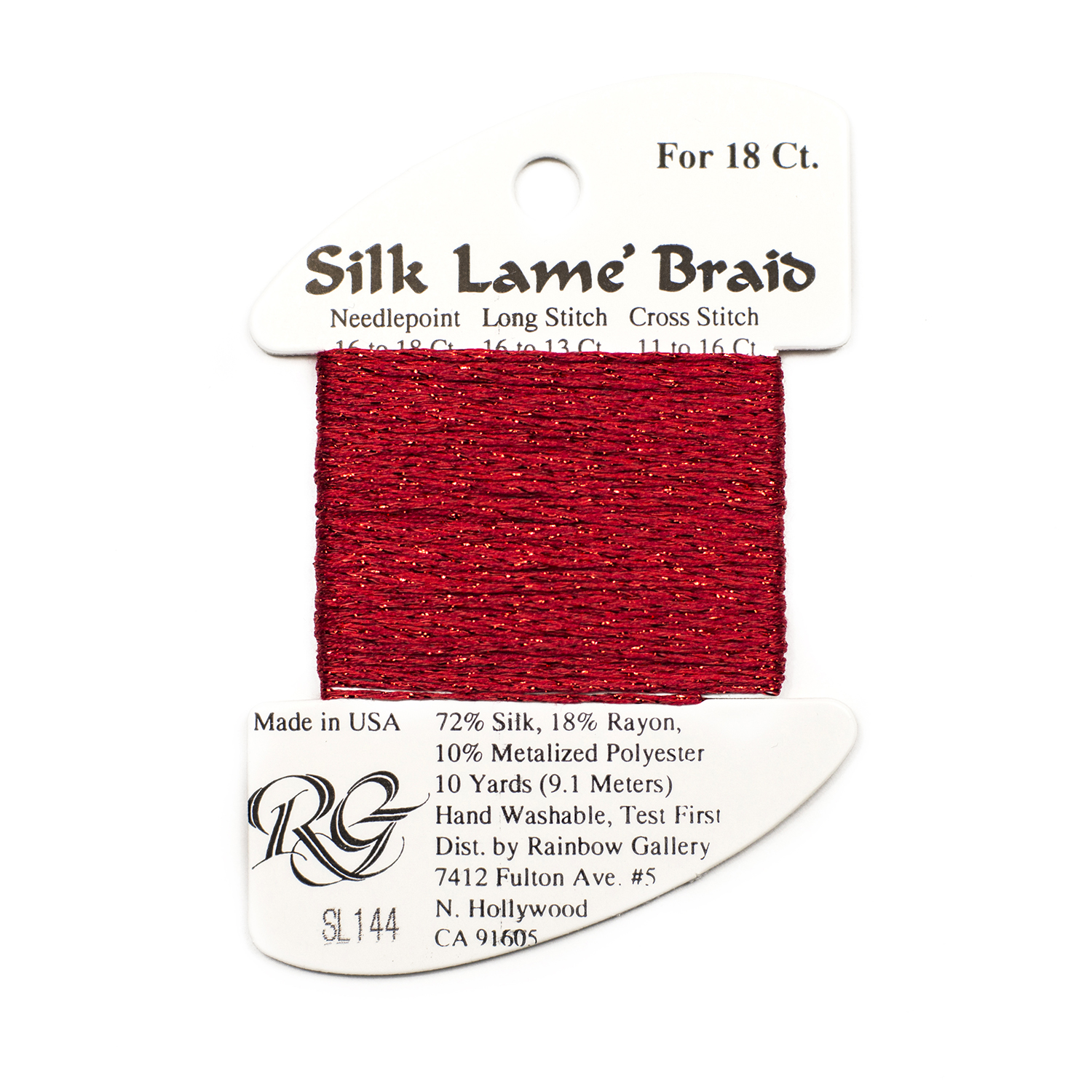 Nashville Needleworks - Silk Lame' Braid