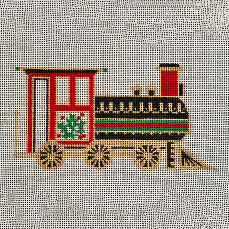 Nashville Needleworks-5790-Painted Pony Train Engine