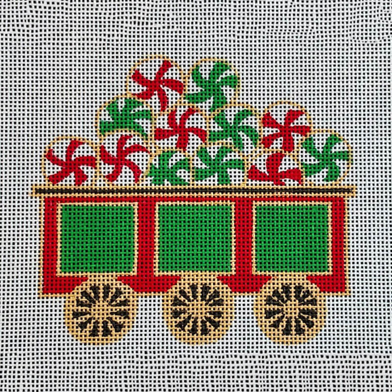 Nashville Needleworks-5791-Painted Pony Peppermint Car