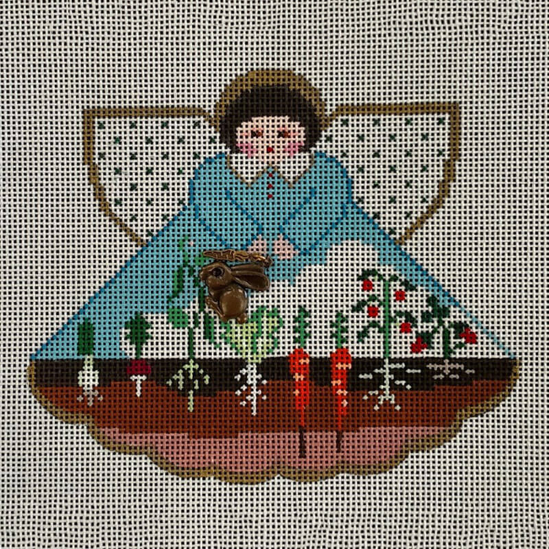 Nashville Needleworks-5794-Bunny Garden Angel
