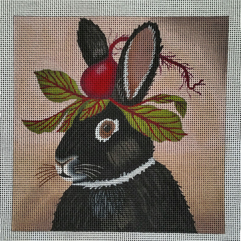Nashville Needleworks-5913-Party Beet Bunny