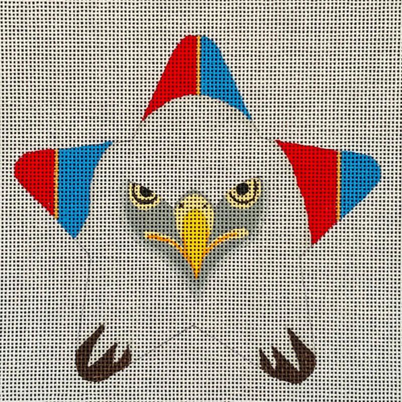 Nashville Needleworks-5802-American Eagle Star