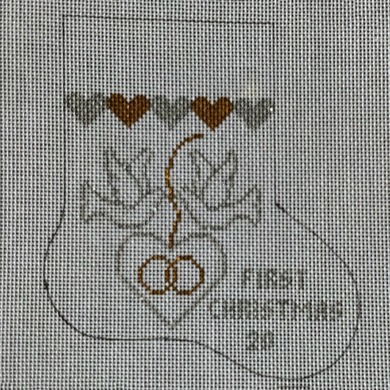 Nashville Needleworks-6174-1st Christmas Wedding