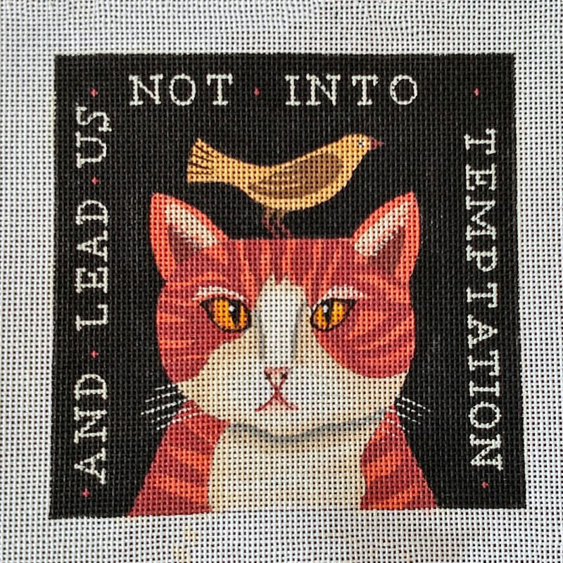 Nashville Needleworks-6123-Lead Me Not Cat