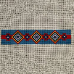 Nashville Needleworks-5874-Indian Beads Bookmark