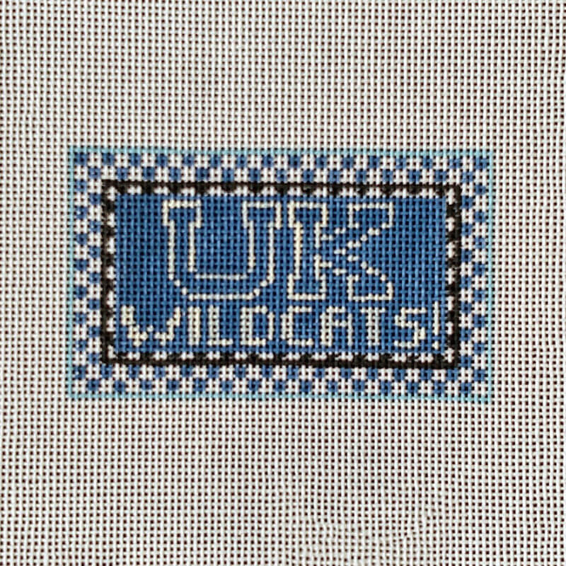 Nashville Needleworks-3188-University of Kentucky Wildcat Mini Sign