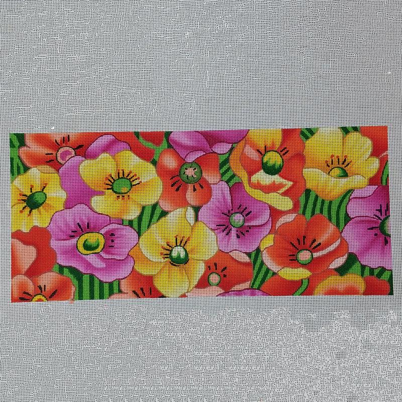Nashville Needleworks- Multicolored Poppies