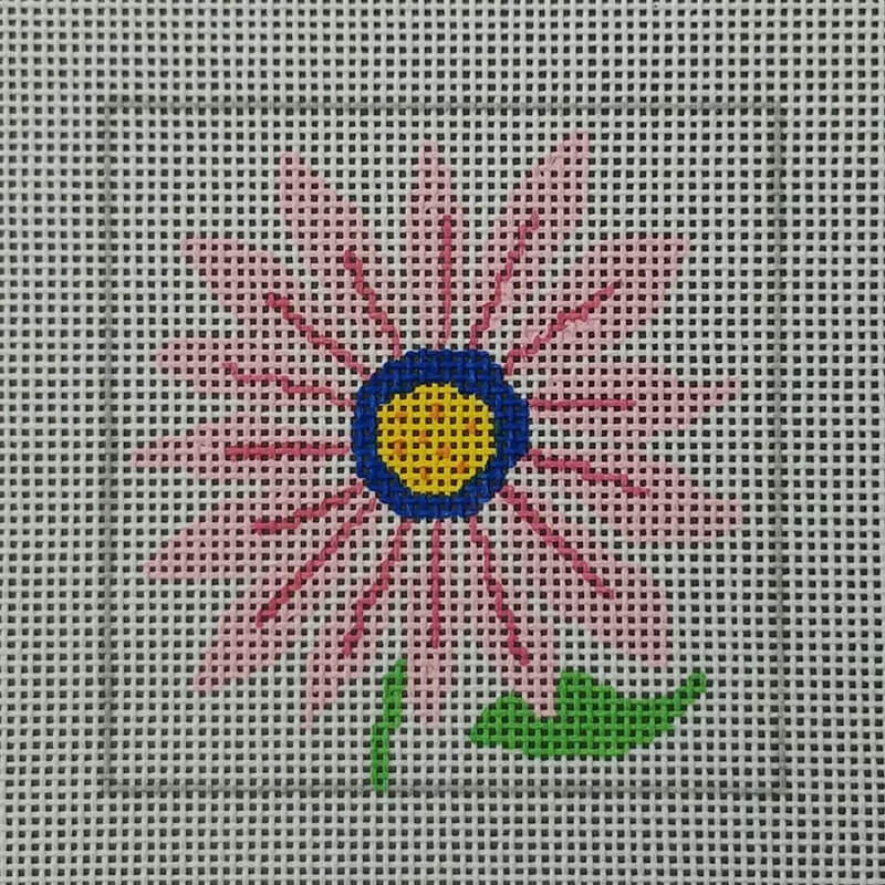 Nashville Needleworks-6351-Floral Fanfare Coaster #4