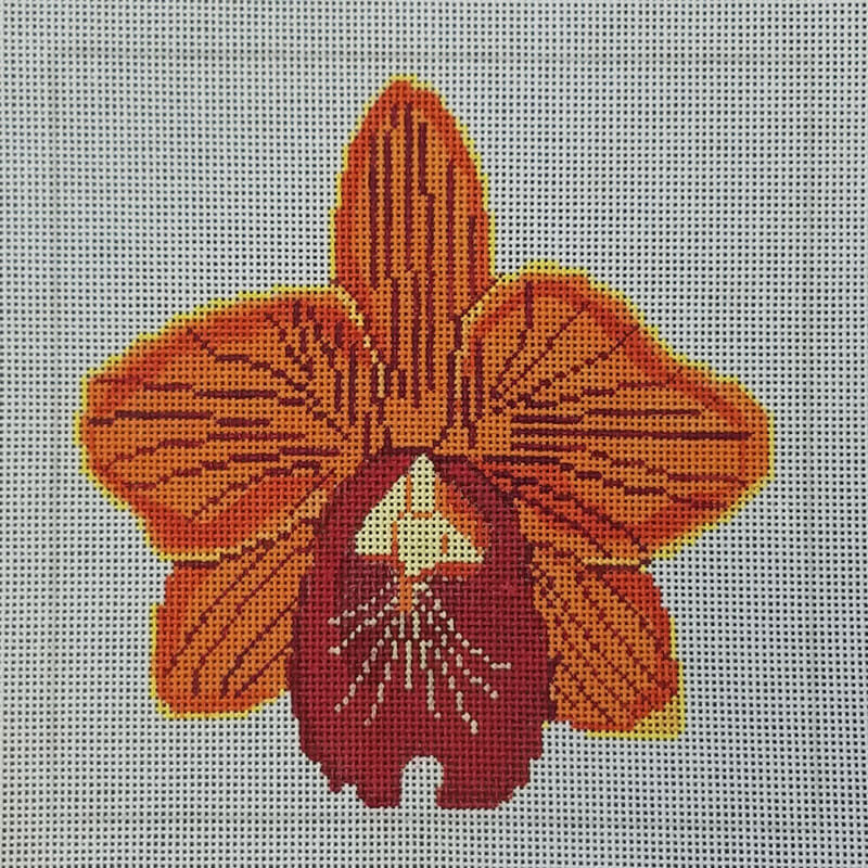 Nashville Needleworks-6358-Small Orchid #1