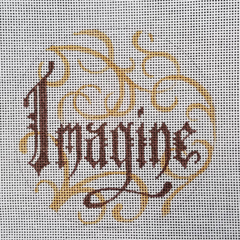Nashville Needleworks-6046-Imagine with Scroll