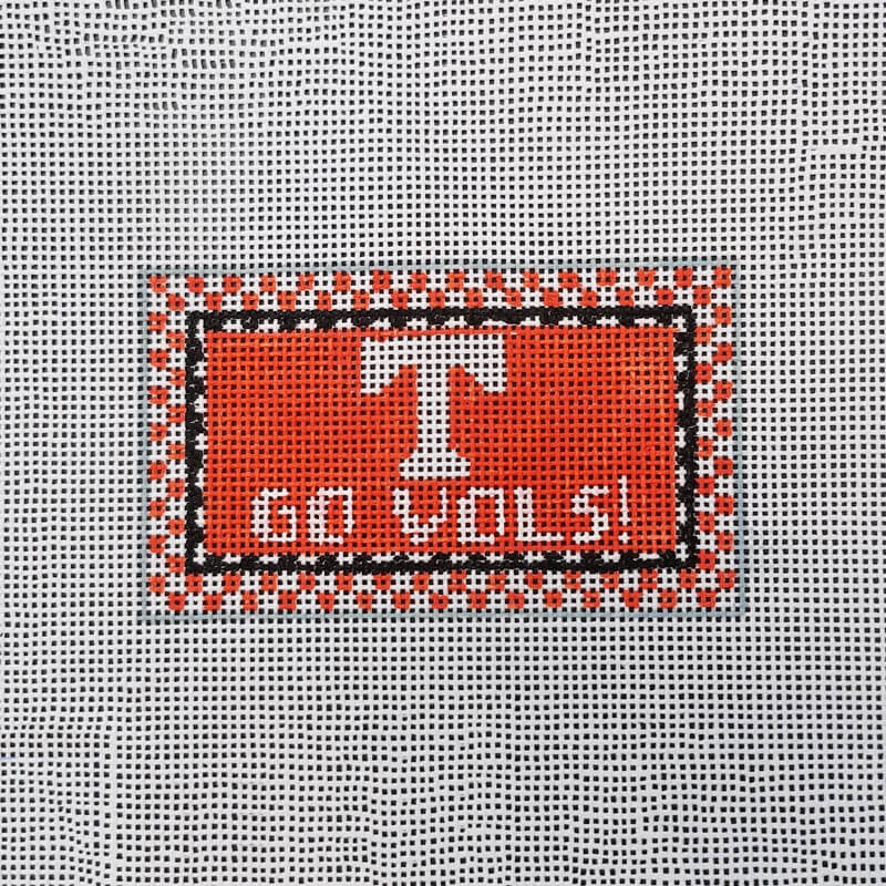 Nashville Needleworks-3187-University of TN Go Vols Mini Sign
