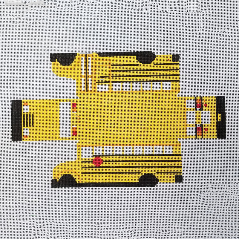 Nashville Needleworks-6095-Cool Wheels School Bus