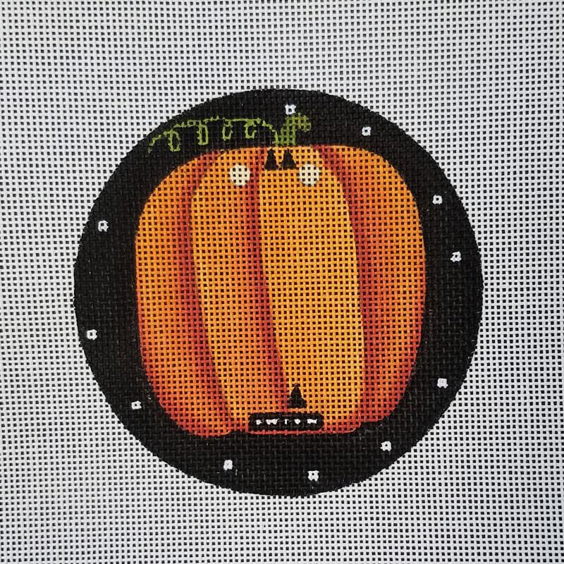 Nashville Needleworks-5075-Pumpkin Round
