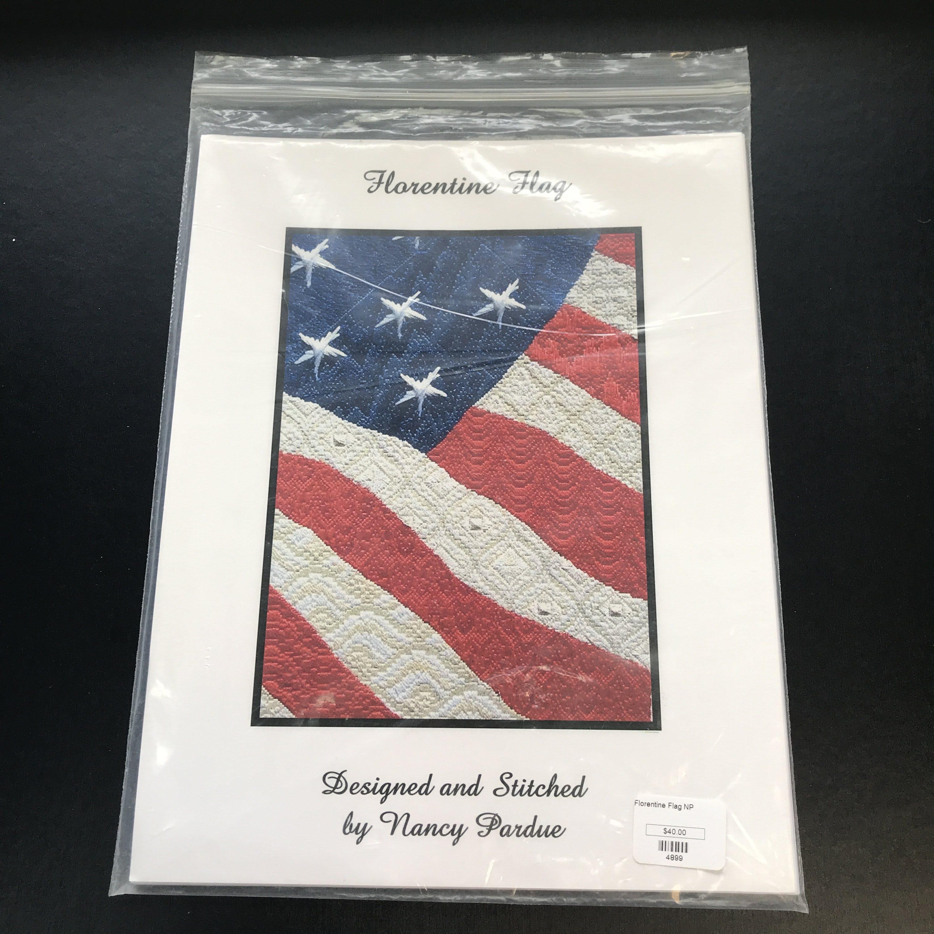 Nashville Needleworks - Florentine Flag