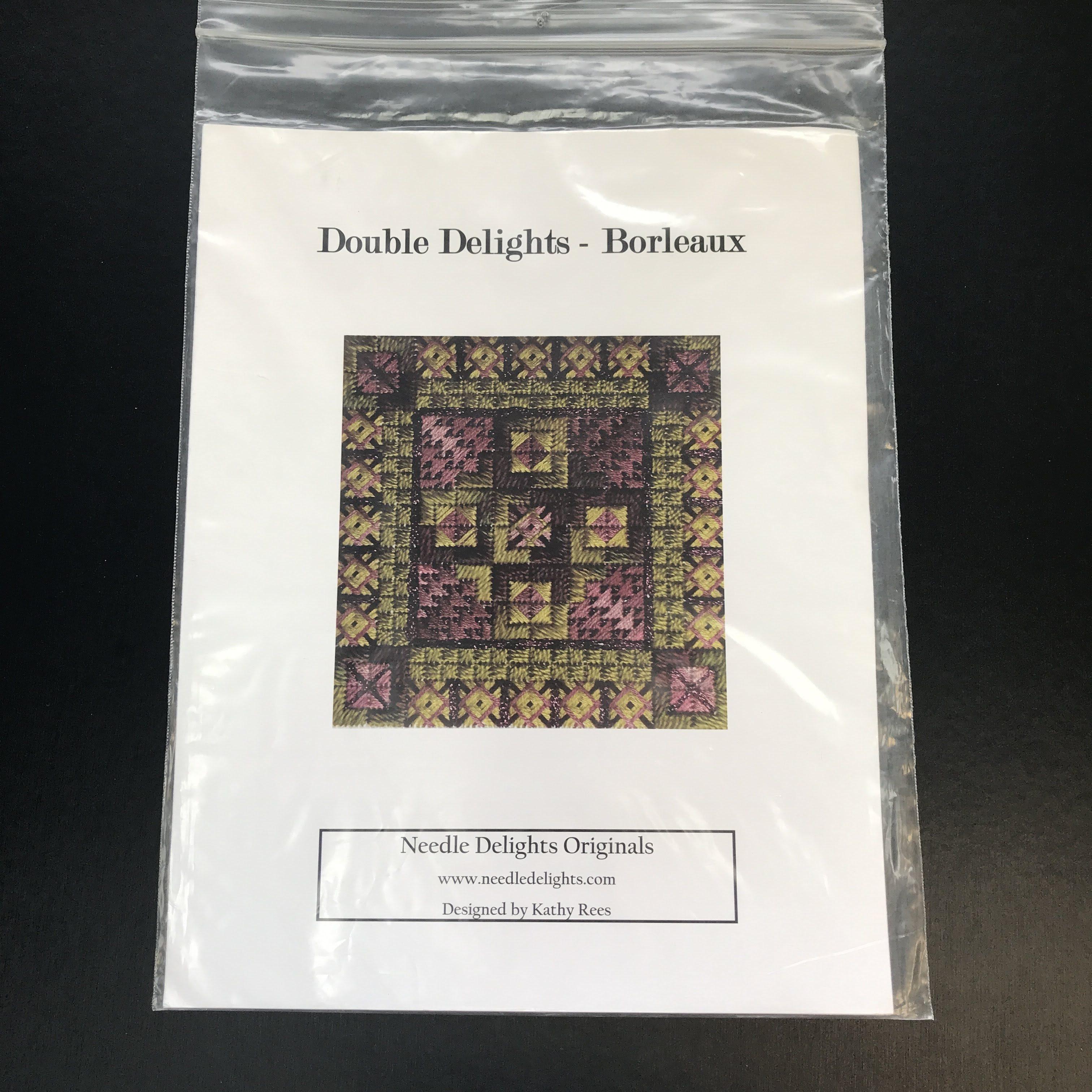 Nashville Needleworks - Double Delights Borleaux