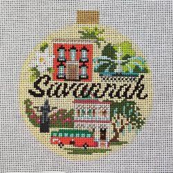 Nashville Needleworks- Savannah Travel Round